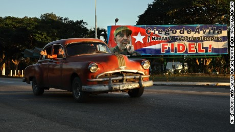CIEGO DE AVILA, CUBA - DECEMBER 05:  Daily life resumes after the nine-day mouring period following the death of revolutionary leader and former Cuban President Fidel Castro December 5, 2016 in Ciego de Avila, Cuba.  Castro, who died November 25 at the age of 90, was entombed Sunday in the the Cementerio Santa Ifigenia in Santiago de Cuba.  (Photo by Chip Somodevilla/Getty Images)