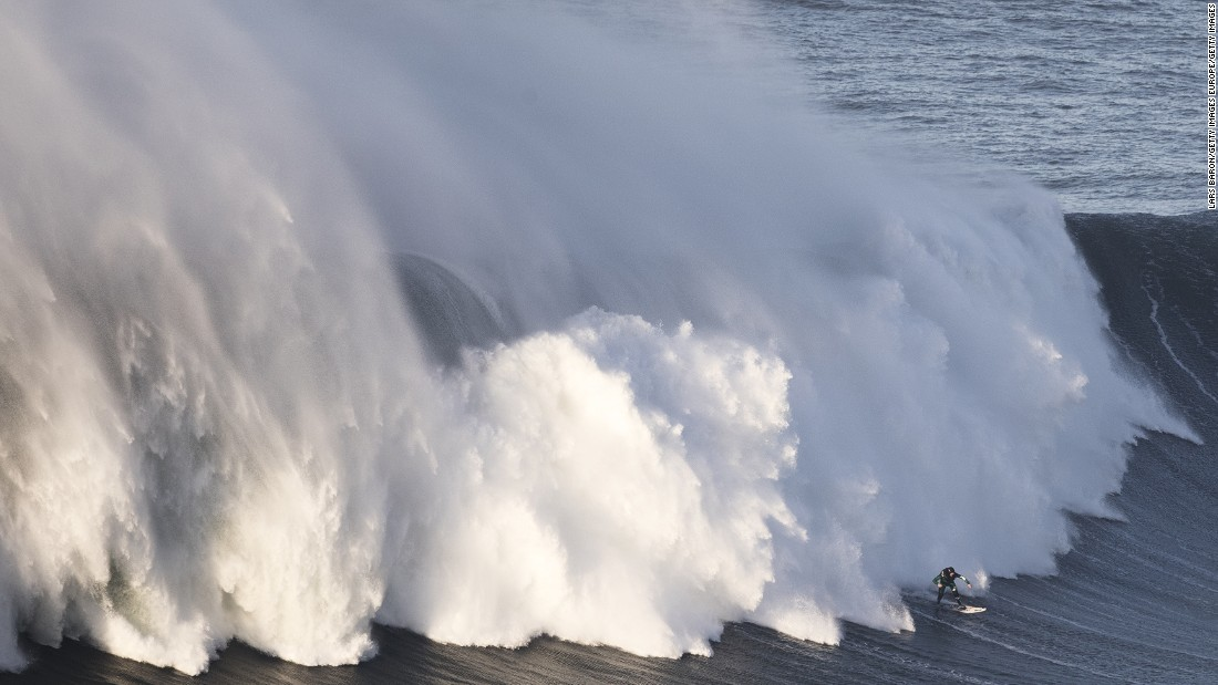 The world's leading big-wave surfers flock to Nazare for the European winter season.