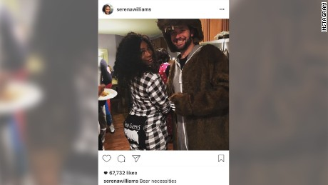 serena williams engaged