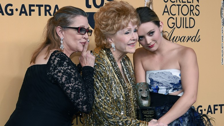 Carrie Fisher's daughter talks famous family