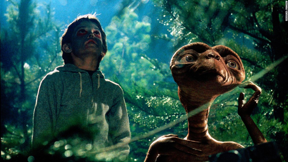 "<strong>""E.T. the Extra-Terrestrial""</strong>: Phone home and remind your family to re-watch this Steven Spielberg hit. <strong>(Netflix)</strong>"
