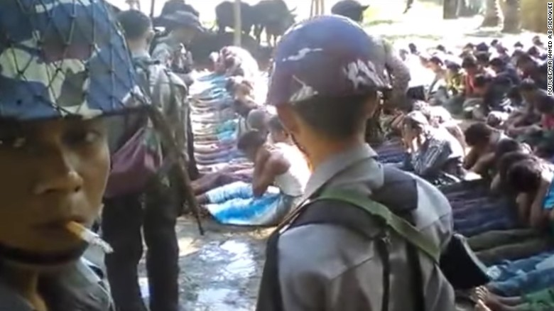 Viral video prompts Myanmar to investigate police brutality against Rohingya villagers