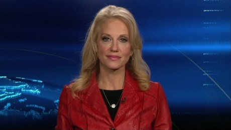 Conway defends Trump's Russian hack comments