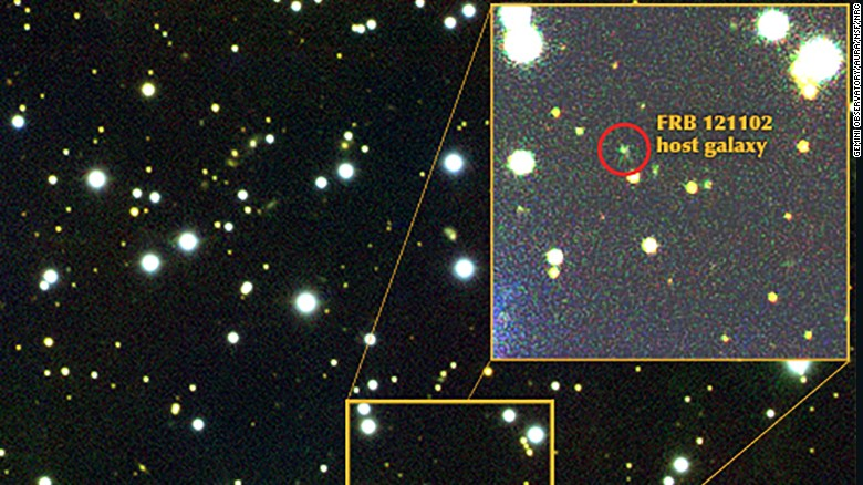 Mysterious radio signal traced to dwarf galaxy