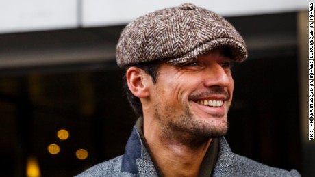 LONDON, ENGLAND - JANUARY 09:  David Gandy attends the E.Tautz show during The London Collections Men AW16 at 180 The Strand on January 9, 2016 in London, England.  (Photo by Tristan Fewings/Getty Images)
