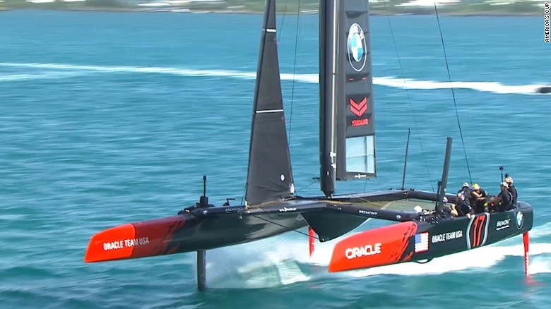 The ACC: the boat of the 2017 America's Cup