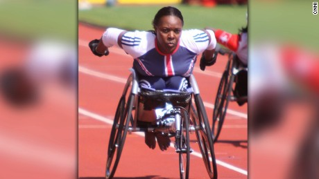Paralympian forced to wet herself on train