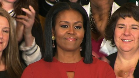 Watch Michelle Obama's entire final speech