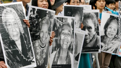 Former 'comfort woman' recalls horrors