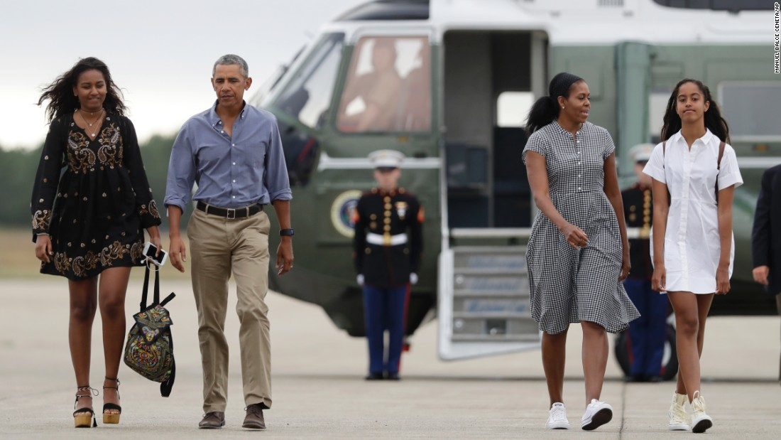 Malia Obama Car What Kind >> Obama cites daughters as example for how to react to election outcome - CNNPolitics