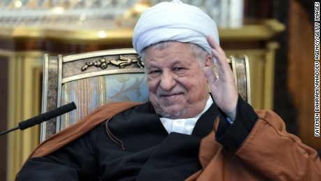 Chairman of the Expediency Discernment Council, Akbar Hashemi Rafsanjani in Tehran, Iran on October 31, 2016.