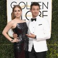 golden globes 2017 - Amy Adams and Jeremy Renner