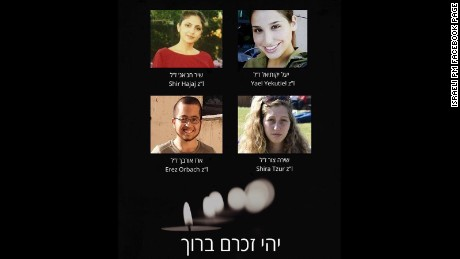 Photo of victims from today's attack in Jerusalem.
