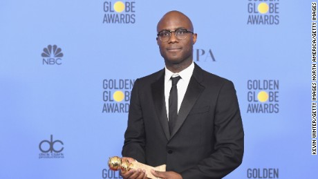 Director Barry Jenkins, winner of Best Motion Picture - Drama for 'Moonlight.'