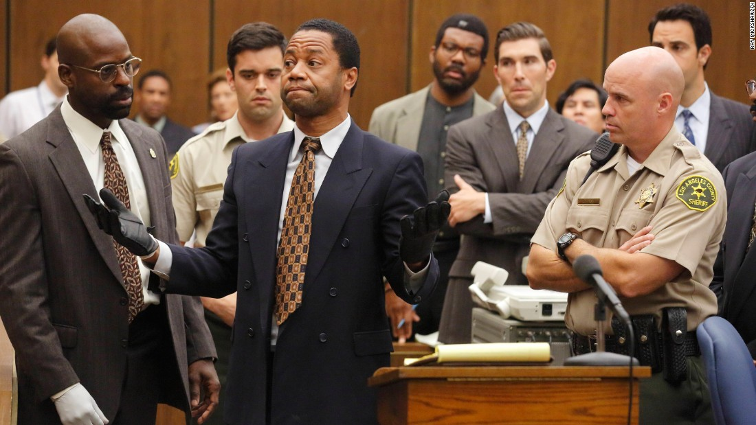 "<strong>Best miniseries or television film:</strong> ""The People v. O.J. Simpson: American Crime Story"""