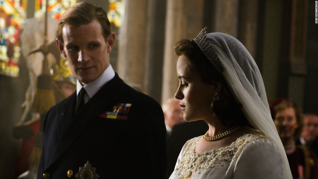 "<strong>Best television series -- drama: </strong>""The Crown"""