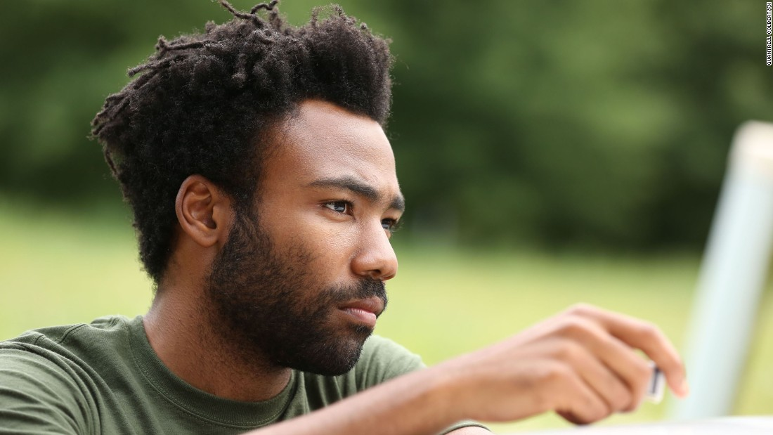 Donald Glover stars as Earnest Marks in the FX comedy 'Atlanta.' The first-time-eligible series earned six nominations, including one for outstanding comedy.
