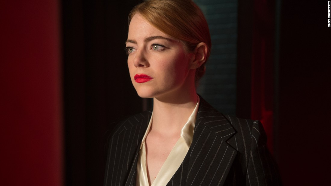 "<strong>Best actress in a motion picture -- musical or comedy: </strong>Emma Stone, ""La La Land"""