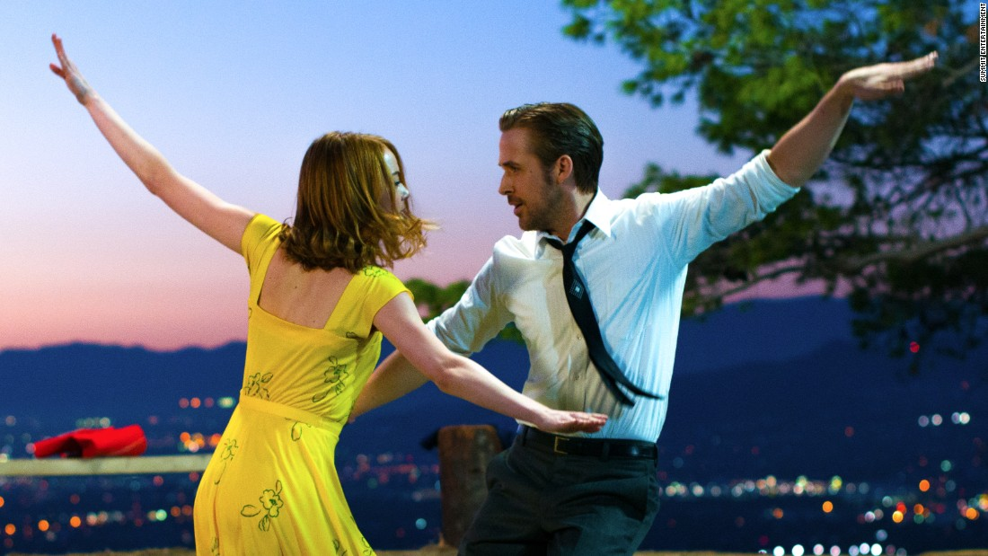 "<strong>Best motion picture -- musical or comedy: </strong>""La La Land"""