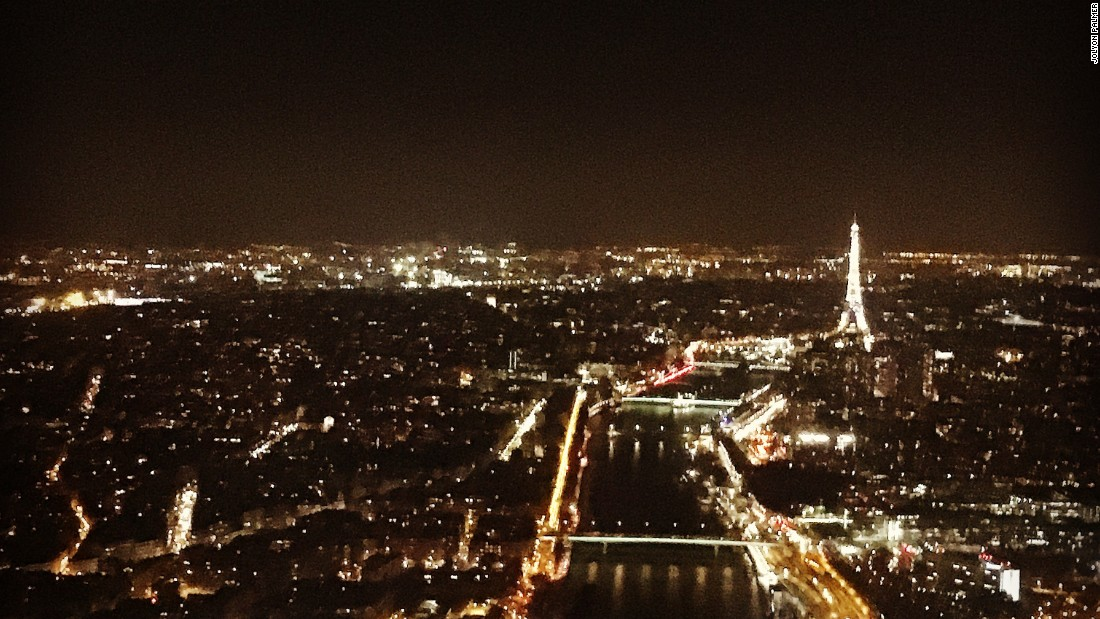 "The British driver's picture holds special memories. Palmer writes: ""Stunning night view of Paris, the night before being presented as a Renault Sport Formula One Team driver for the first time."""