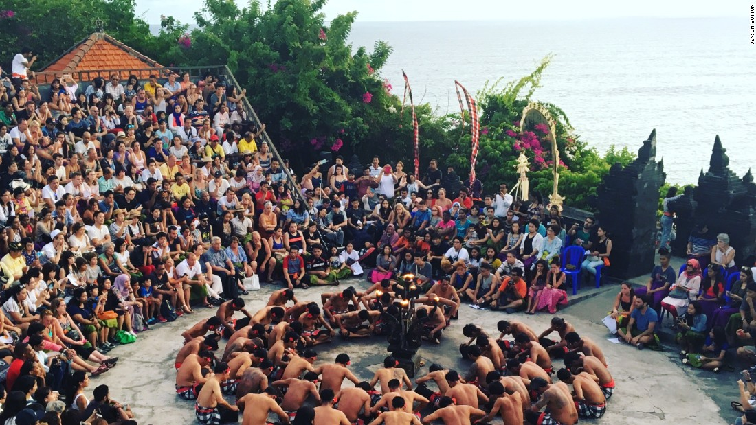 """I took this photo on Monday, 11 September 2016 when I was holiday in Bali, Indonesia, prior to the Singapore Grand Prix,"" says the 2009 F1 champion. ""It is a Kecak, Balinese dance."""