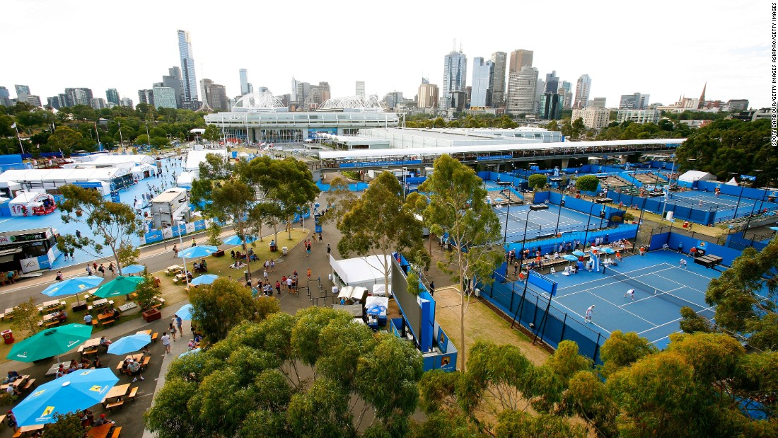 Unlike the other three majors, the Australian Open venue is a short walk from downtown Melbourne and its charms.