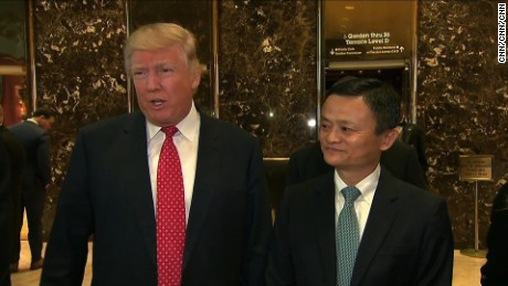 Asia's richest man is the latest to cozy up to Donald Trump with the promise of creating more American jobs.