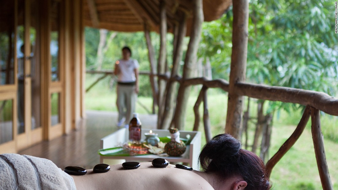 <strong>A spa in South Africa:</strong> The Karkloof Safari Spa has all the trappings of the usual luxury safari lodge, but also offers 11 different spa treatments per day.