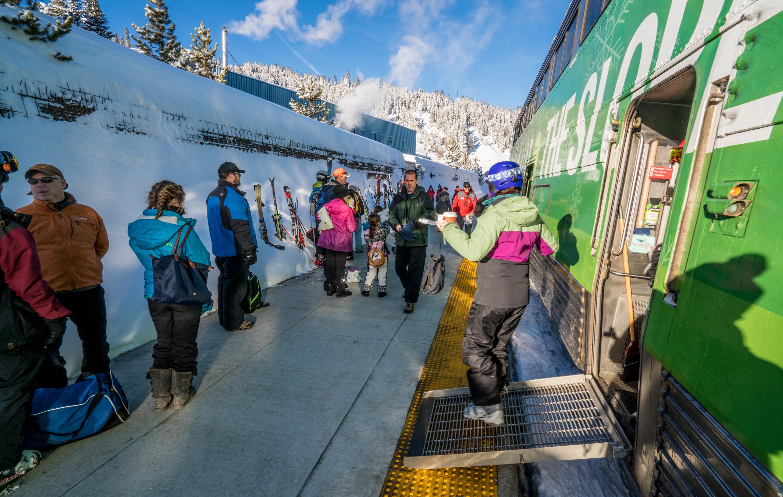amtrak ski train denver winter park route cnn travel