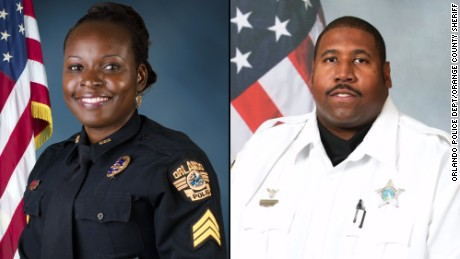 Orlando tragedy: Two officers remembered
