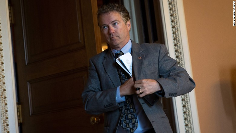 Rand Paul calls new GOP bill 'Obamacare-lite'