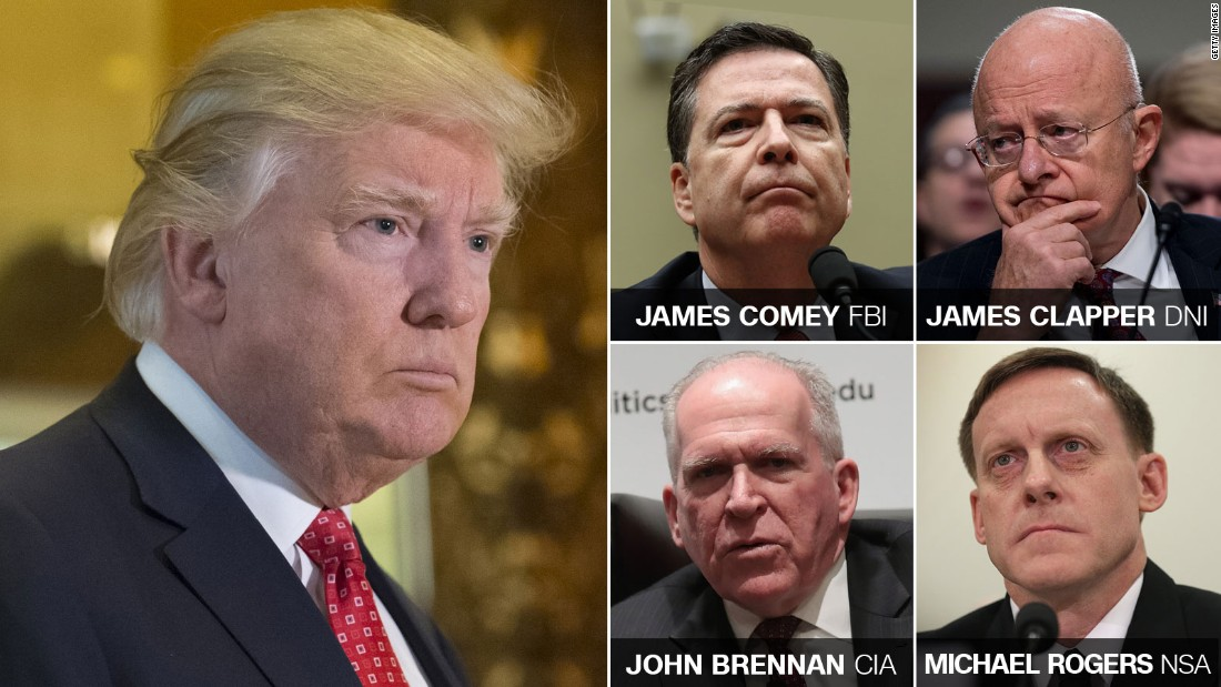 Intel chiefs presented Trump with claims of Russian efforts to compromise him