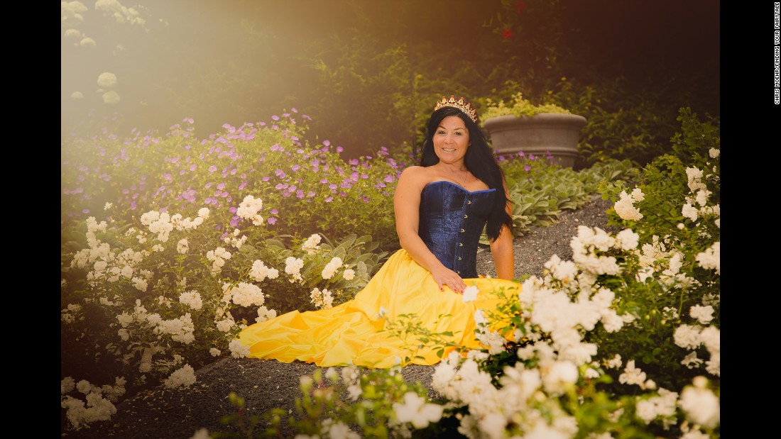 Snow White was a caretaker to the seven dwarfs. Flynn faces the challenges of caring for a child with special needs, as well as three other children. She's shown embracing her role as a caregiver.