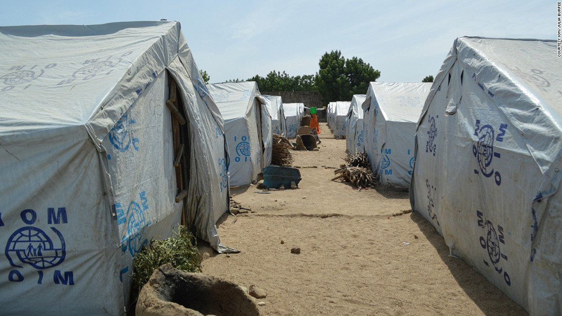 Some of the camps in the northeastern part of the country near the border with Cameroon are home to more than 35,000 people. Often forced to flee their homes in a hurry, some arrive with nothing. Around 90% of internally displaced Nigerians have fled their homes because of the Boko Haram insurgency, according to IOM.