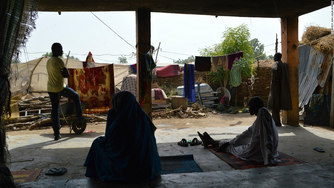 """We came empty-handed. Boko Haram took all our things, our cattle and our land. People in Maiduguri have given us some things, but still, we are just managing,"" Ali Yacana, whose family of 15 live in one of the camps, told IOM."