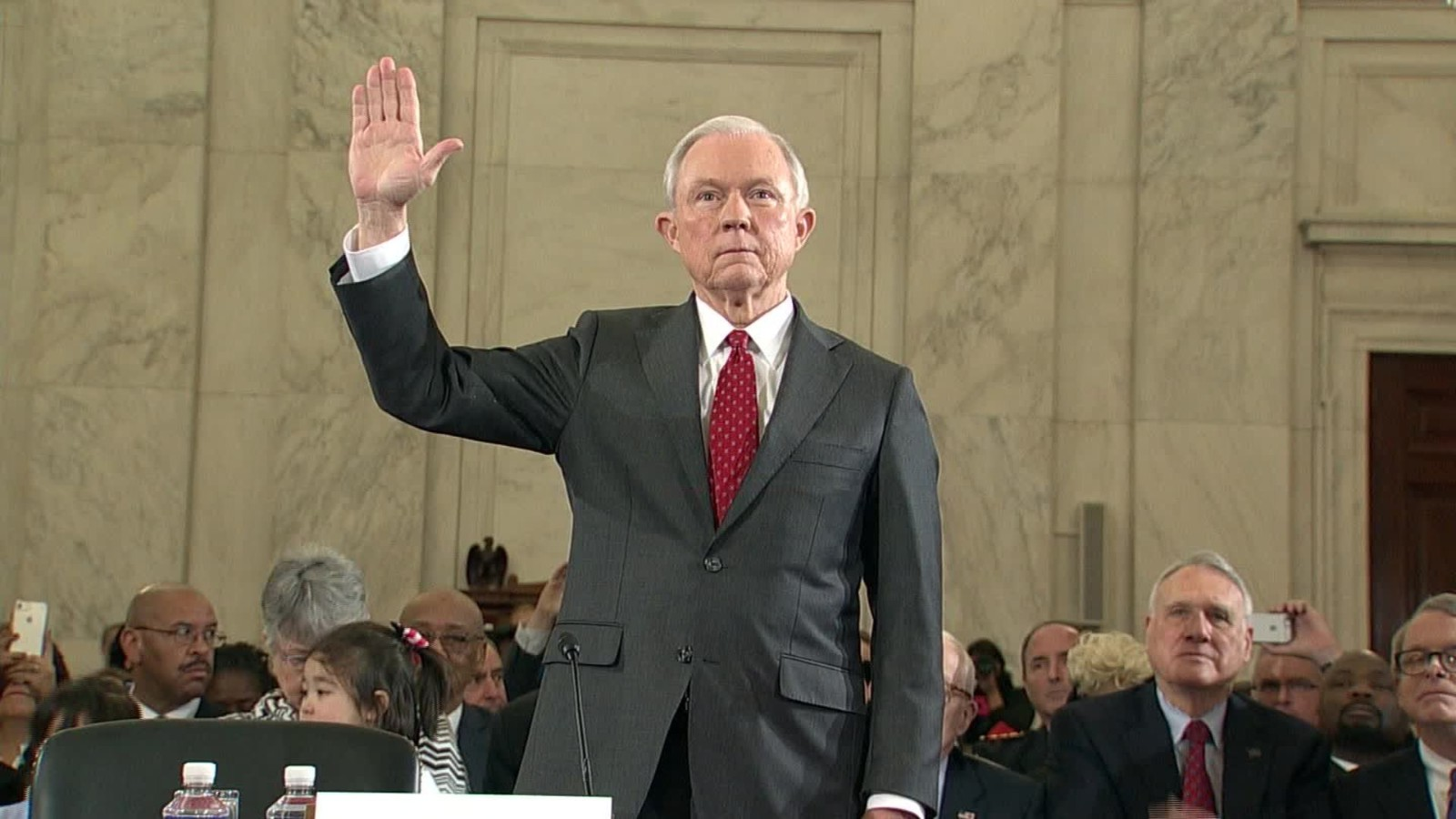 jeff sessions takes on racism charges pledges to recuse himself from clinton probes cnnpolitics