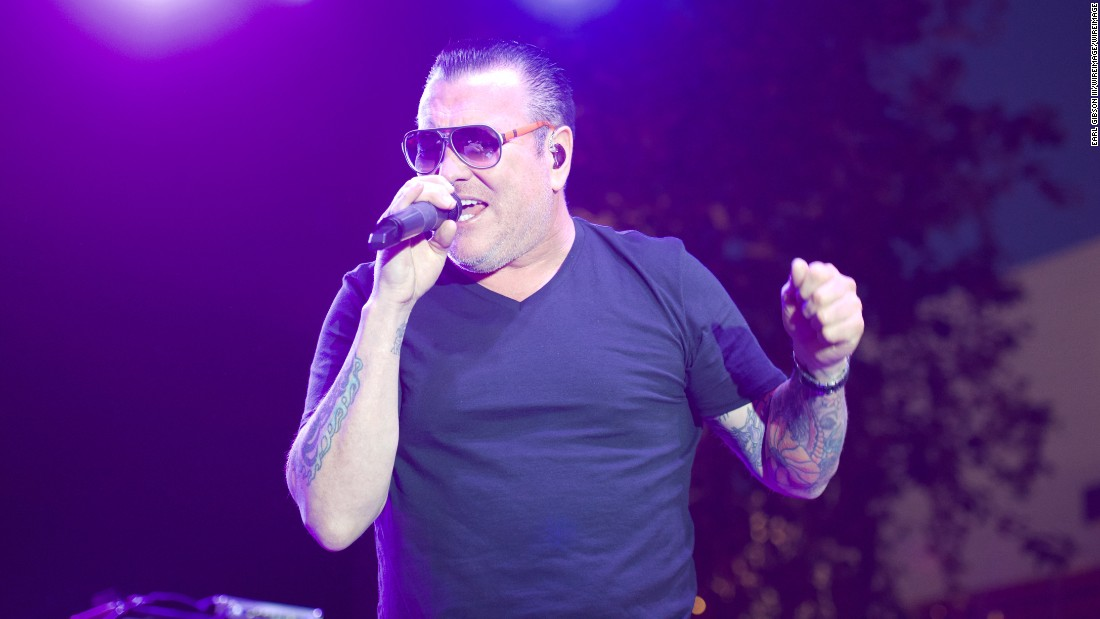 Smash Mouth lead singer Steve Harwell also turned 50 on January 9.