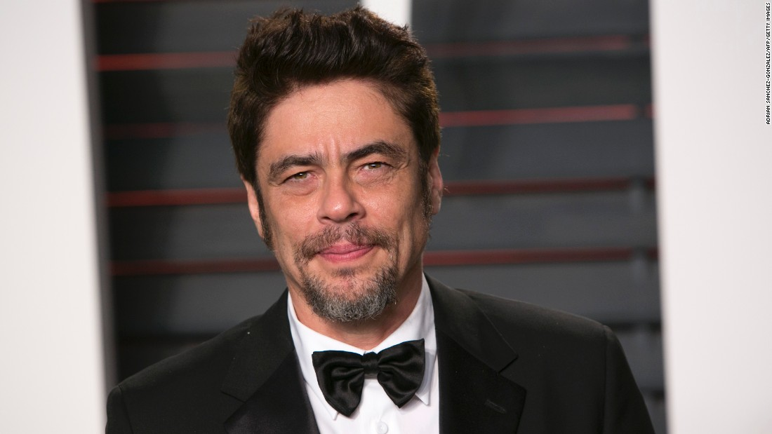 "Movie star Benicio del Toro may have rounded up some of the ""Usual Suspects"" for his big day on February 19."