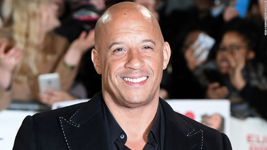 Vin Diesel raced into his birthday on July 18.