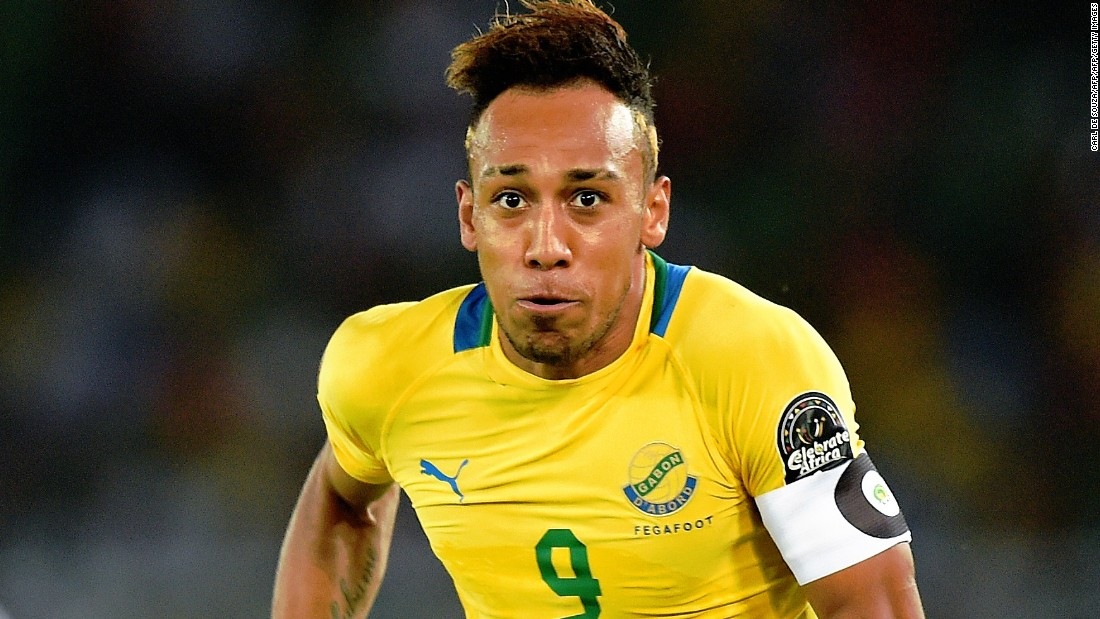 Aubameyang Picture: Pierre-Emerick Aubameyang: Family Ties Fuel Africa's Star