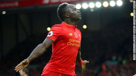 Liverpool's Senegal striker Sadio Mané is the most expensive African player of all time.