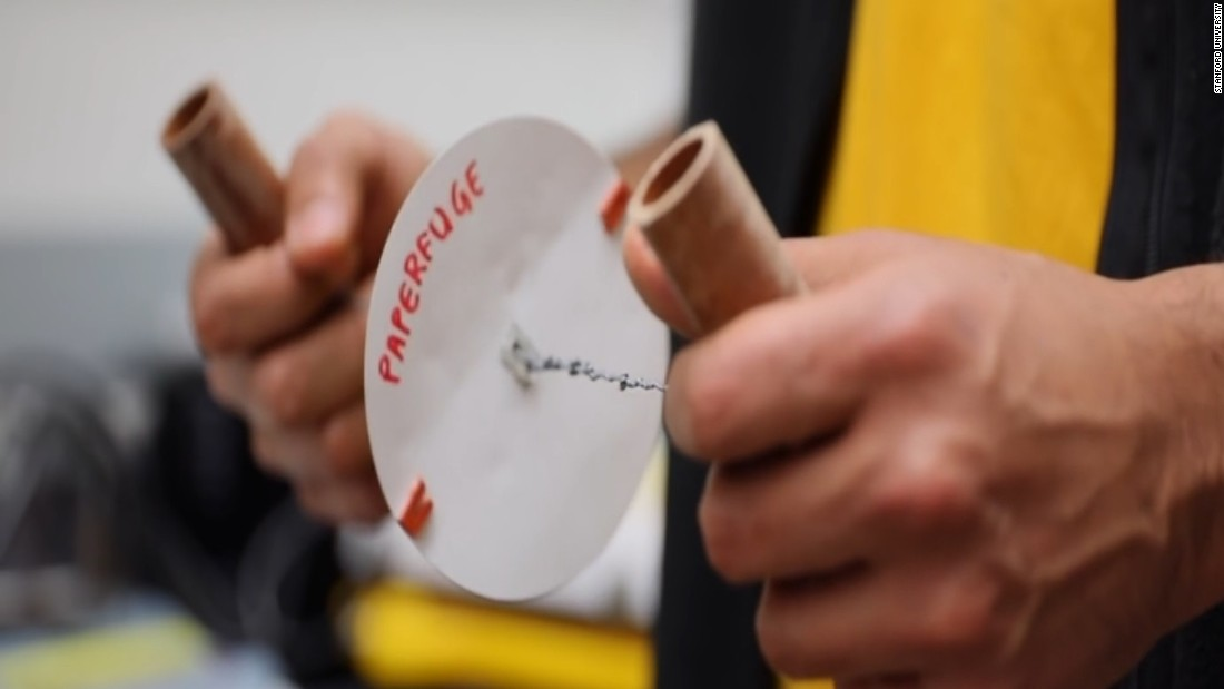 20-cent, whirligig-inspired Paperfuge could help diagnose diseases