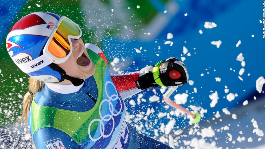 Golden girl Vonn won the Olympic downhill at Whistler in 2010 and added bronze in the super-G.