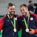 Jack Sock Steve Johnson men's doubles Bronze medalists rio 2016 olympics