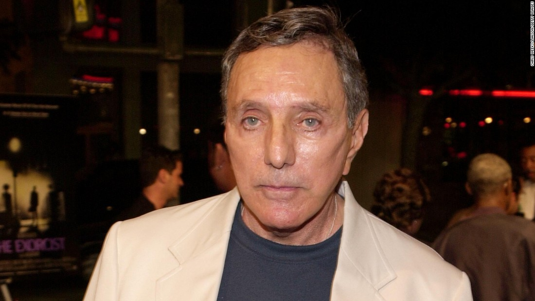 "Author and filmmaker <a href=""http://www.cnn.com/2017/01/13/entertainment/william-peter-blatty-dies/index.html"" target=""_blank"">William Peter Blatty,</a> who scared millions with the best-selling novel and Oscar-winning movie ""The Exorcist,"" died January 12 from a form of blood cancer called multiple myeloma, his widow said. He was 89."