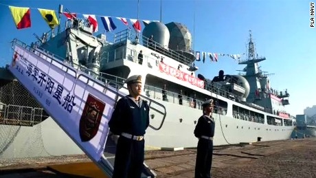 China's Navy has added a new model of electronic reconnaissance ship to its fleet, CNS Kaiyangxing or Mizar.