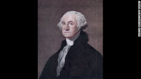 circa 1790:  George Washington, the 1st President of the United States of America.  Original Publication: From the engraving by W Nutter, after CG Stuart.  (Photo by Hulton Archive/Getty Images)