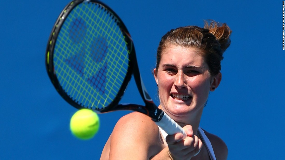 At the age of just 22, Canadian Rebecca Marino was forced to quit tennis following a battle with mental illness. She says this struggle was worsened by online abuse.