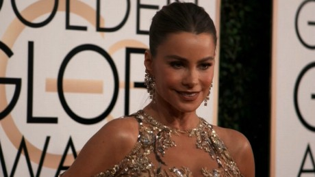 Sofie Vergara at Golden Globes