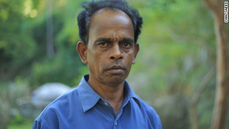 Hamid Hossain's son was detained by the Myanmar army.